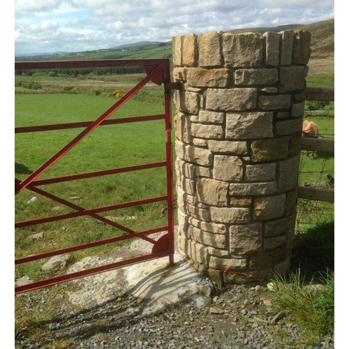 Real Stone walls - dry stone walls, pillars and columns by Inish Stone from redacastle donegal